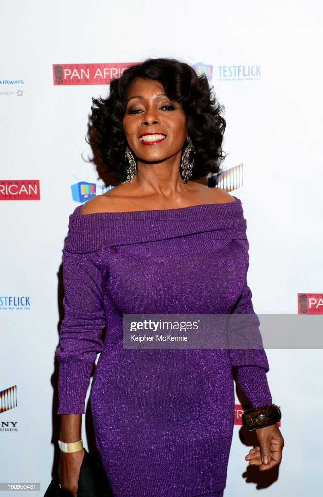 Judy Pace attends 21st Annual Pan African Film Festival Opening Night Gala premiere of Vipaka at DGA Theater on February 7, 2013 in Los Angeles, California.