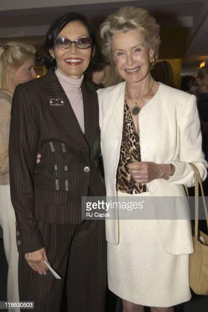 Judy Price & Dina Merrill