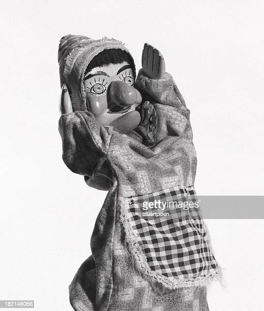 judy puppet. - puppet stock photos and pictures