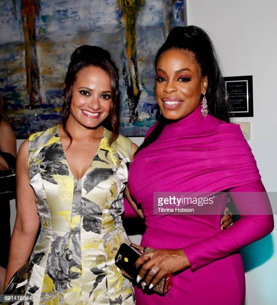 Judy Reyes and Niecy Nash attend the premiere of TNT's 'Claws' after party at Harmony Gold Theatre on June 1 2017 in Los Angeles California