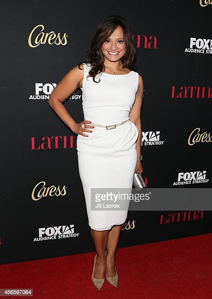Judy Reyes attends LATINA Magazine's 'Hollywood Hot List' party at the Sunset Tower Hotel on October 2 2014 in West Hollywood California