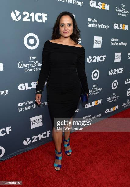 Judy Reyes attends the GLSEN Respect Awards at the Beverly Wilshire Four Seasons Hotel on October 19 2018 in Beverly Hills California