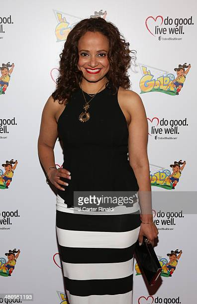 Judy Reyes attends the 'La Golda' premiere at Lighthouse International Theater on April 26 2014 in New York City