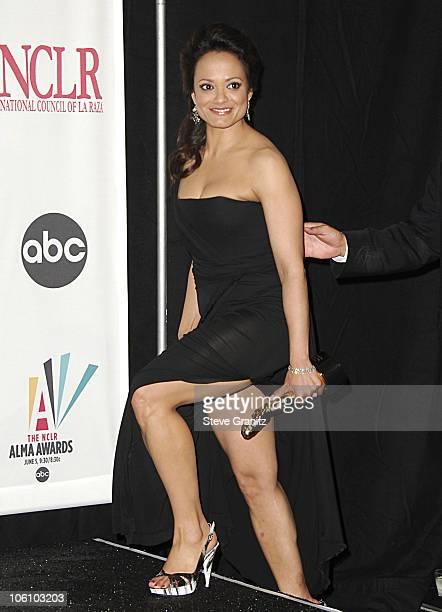 Judy Reyes during 2006 NCLR ALMA Awards Press Room at Shrine Auditorium in Los Angeles California United States