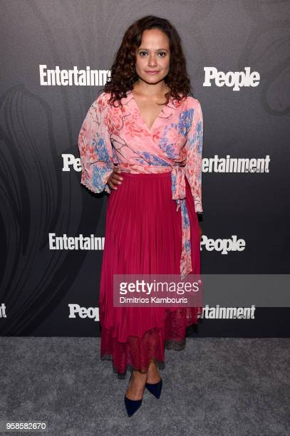 Judy Reyes of Claws attends Entertainment Weekly PEOPLE New York Upfronts celebration at The Bowery Hotel on May 14 2018 in New York City