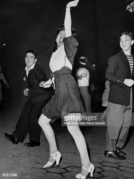 Judy Russin and John Luviso doing the jitterbug in Central Park