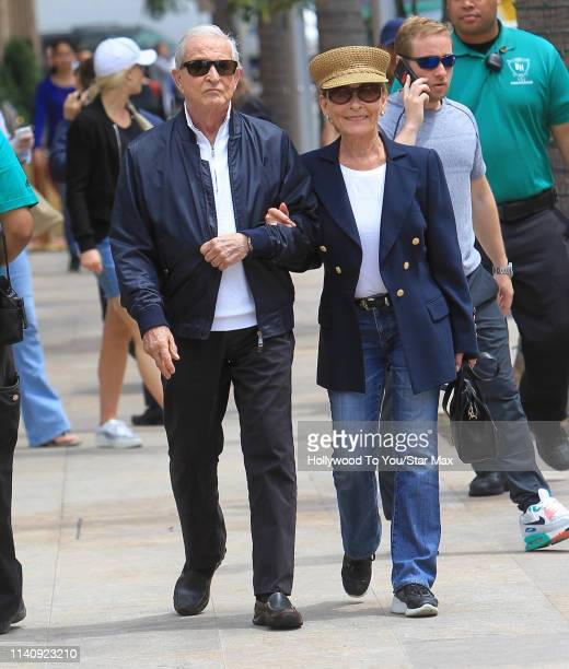 Judy Sheindlin and Jerry Sheindlin are seen on May 2 2019 in Los Angeles California