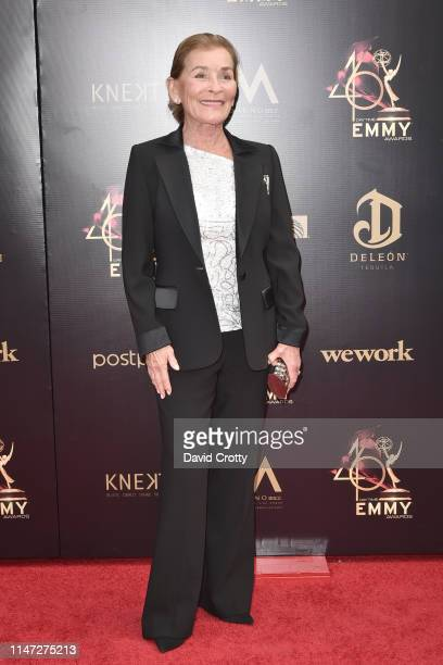 Judy Sheindlin attends the 46th annual Daytime Emmy Awards at Pasadena Civic Center on May 05 2019 in Pasadena California