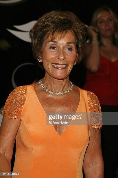 Judy Sheindlin during 31st Annual American Women in Radio Television Gracie Allen Awards at Marriott Marquis Hotel in New York New York United States