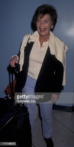 Judy Sheindlin sighted on November 30 1997 at the Los Angeles International Airport in Los Angeles California