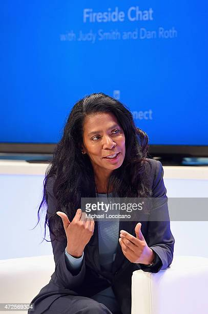 Judy Smith Founder and President Smith Company speaks onstage at LinkedIn's CommsConnect NY at Carnegie Hall on May 8 2015 in New York City
