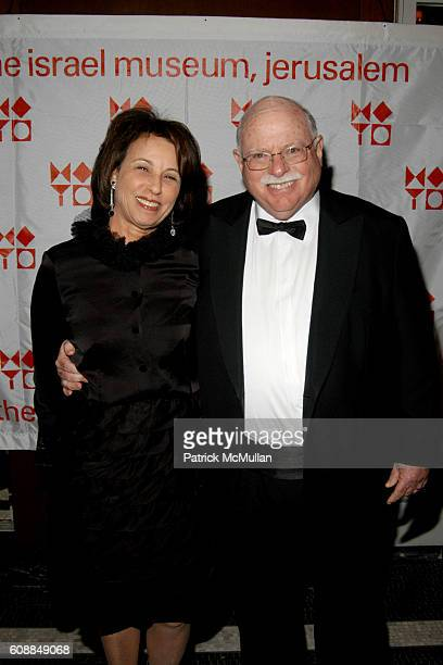 Judy Steinhardt and Michael Steinhardt attend AFIM Photography Gala at Waldorf Astoria on October 29 2007 in New York City