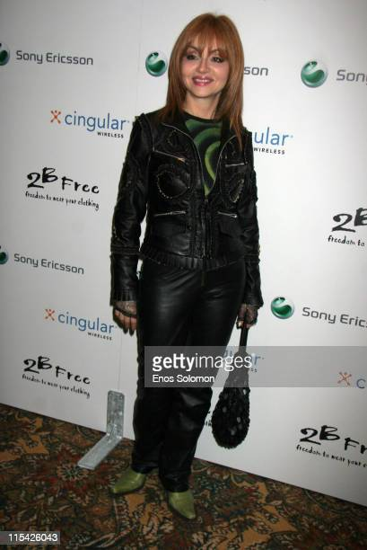 Judy Tenuta during Sony Ericsson and Cingular Wireless Present The 2 B Free Fall 2006 Collection Red Carpet at Regent Beverly Wilshire in Beverly...