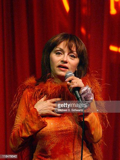 Judy Tenuta during The Comedy Store Hosts Celebrity Fundraiser for the Heartfelt Foundation - Show at The Comedy Store in Hollywood, California,...