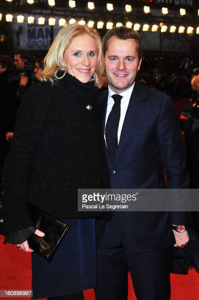 Judy Witten and Daniel Bahr attend 'The Grandmaster' Premiere during the 63rd Berlinale International Film Festival at Berlinale Palast on February 7...