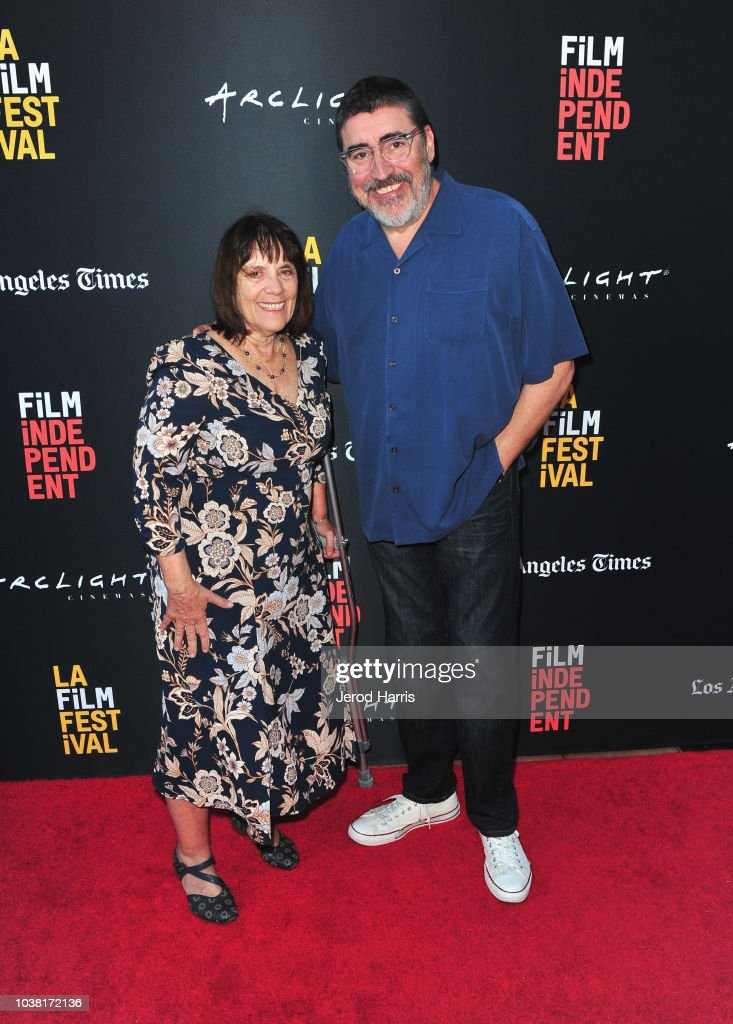 Judy Wood and Alfred Molina attend the screening of