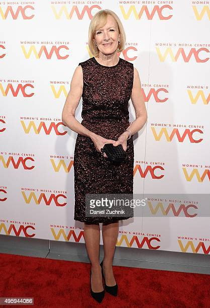 Judy Woodruff attends The Women's Media Center 2015 Women's Media Awards at Capitale on November 5 2015 in New York City