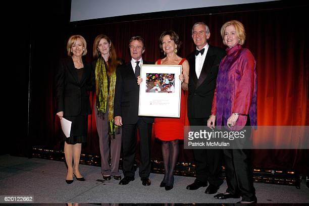 Judy Woodruff Samantha Power Bernard Kouchner Kati Marton Brian Brink and Adrienne Germain attend INTERNATIONAL WOMEN'S HEALTH COALITION 7th ANNUAL...