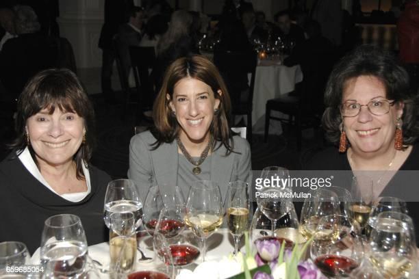 Judy Zipp Meredith Goldman and Ellen Grimes attend Black Truffles Blue Jeans Burgundy Blues A Casual Sunday Supper To Benefit CITYMEALSONWHEELS at...
