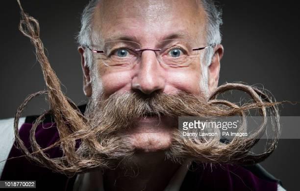 Juegen Burkardt attends the fourth British Beard and Moustache Championships at the Empress Ballroom Winter Gardens Blackpool