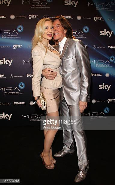 Juergen and Ramona Drews arrive to the 'Mira Award 2012' ceremony at eWerk on January 26 2012 in Berlin Germany