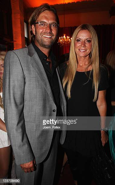Juergen and Ulla Klopp attend the Day of Legends gala Night of Legends at the Schmitz Tivoli theatre on September 4 2011 in Hamburg Germany