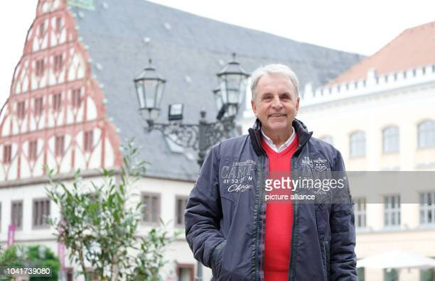 Juergen Croy former German soccer player in East German fourth division poses in ZwickauGermany 10 October 2016 Croy who was born in Zwickau will...