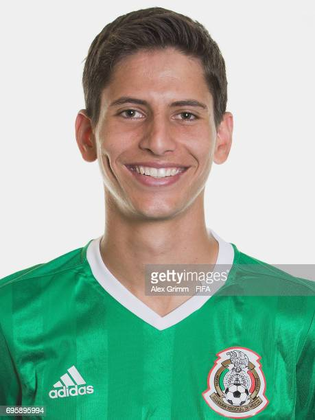 Juergen Damm poses for a picture during the Mexico team portrait session on June 14 2017 in Kazan Russia