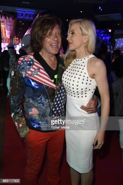 Juergen Drews and his wife Ramona Drews during the Megapark Mallorca Season opening on May 14 2017 in Palma de Mallorca Spain