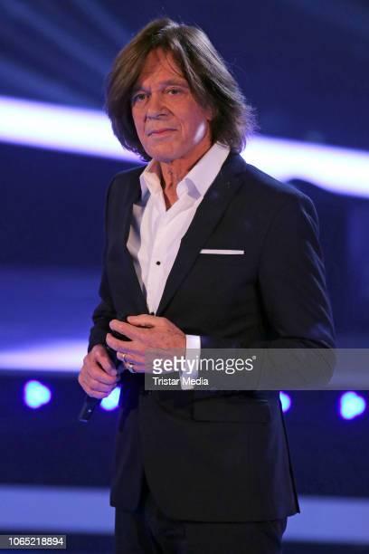 Juergen Drews during the tv show 'Die Schlager des Jahres' at Congress Centrum on November 23, 2018 in Suhl, Germany.