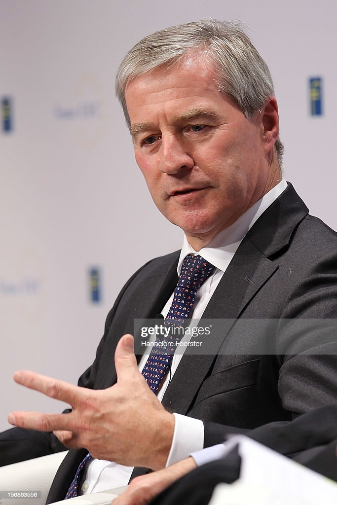 Juergen Fitschen, Co-Chairman of the management of Deutsche Bank AG, attends the European Banking Congress on November 23, 2012 in Frankfurt, Germany. Bankers from across Europe are meeting as Europe continues to struggle with weak economies in the Eurozone and governments remain locked in disagreement over the European Union 2013 budget.