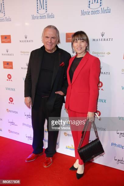 Juergen Hunke and his wife Chun Li attend the Movie Meets Media event 2017 at Hotel Atlantic Kempinski on November 27 2017 in Hamburg Germany