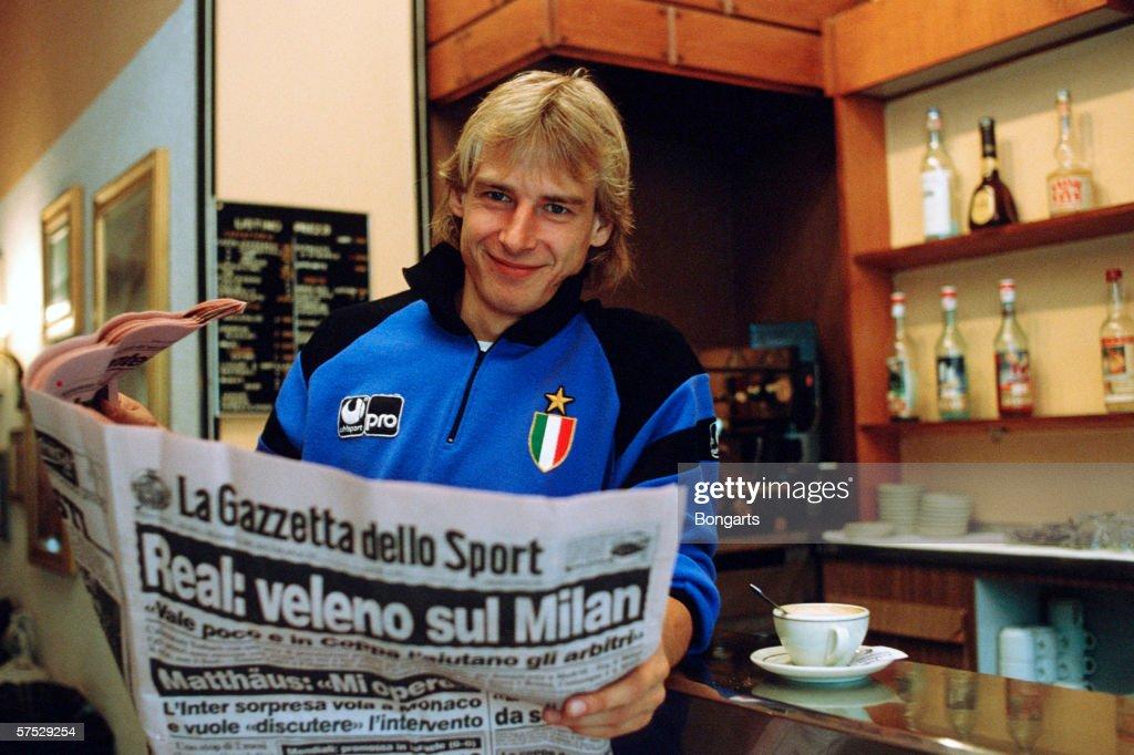 Juergen Klinsmann photo call : News Photo