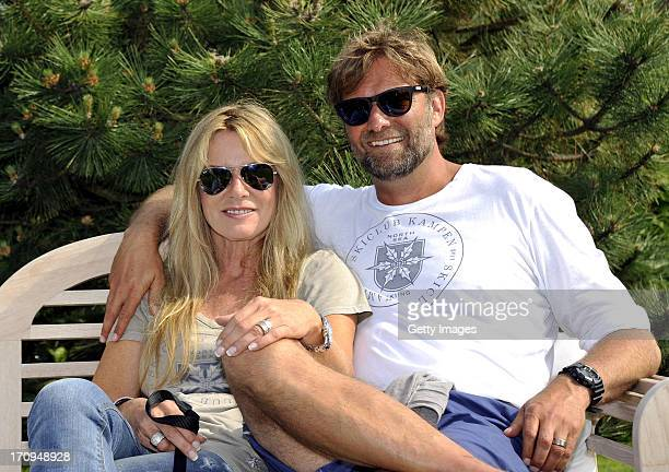 Juergen Klopp and his wife Ulla attend the Skiclub Kampen season opening on June 20 2013 in Kampen Germany