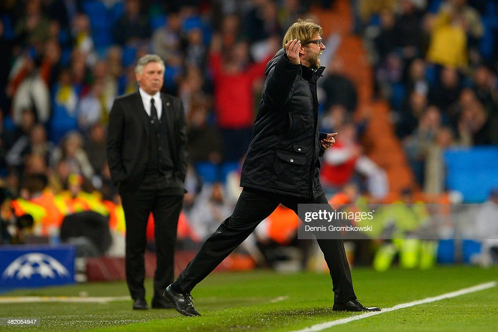 Real Madrid v Borussia Dortmund - UEFA Champions League Quarter Final : News Photo