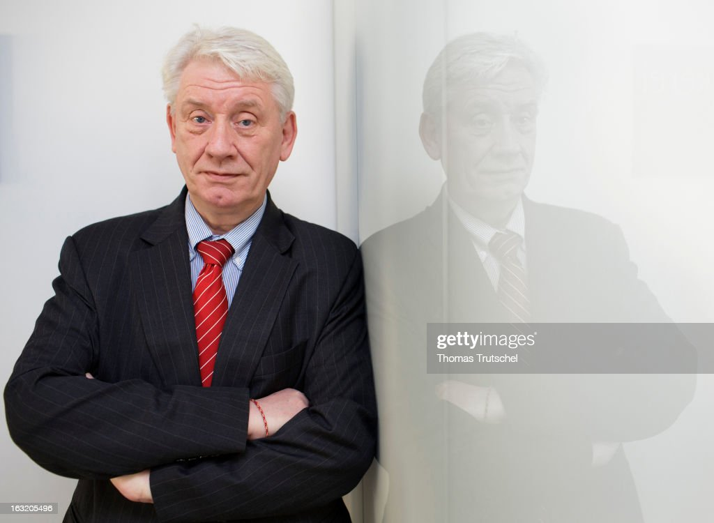 Juergen Koppelin, Member of the Free Democratic Party of Germany poses on February 26, 2013 in Berlin, Germany.