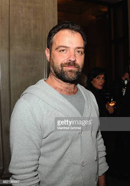Juergen Maurer poses for a photograph during the 'Alles Immer Moeglich' record presentation at Odeon on November 26 2013 in Vienna Austria