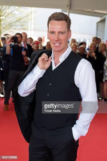 Juergen Milski attends the 'Goldene Sonne 2018' Award by SonnenklarTV on April 7 2018 in Kalkar Germany