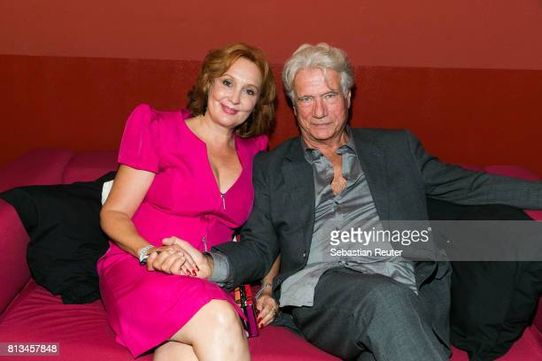 Juergen Prochnow and his wife Verena ProchnowWengler attend the summer party 2017 of the German Producers Alliance on July 12 2017 in Berlin Germany