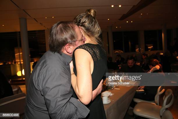 Juergen Tarrach and Tanja Wedhorn during the ARD advent dinner hosted by the program director of the tv station Erstes Deutsches Fernsehen at Hotel...