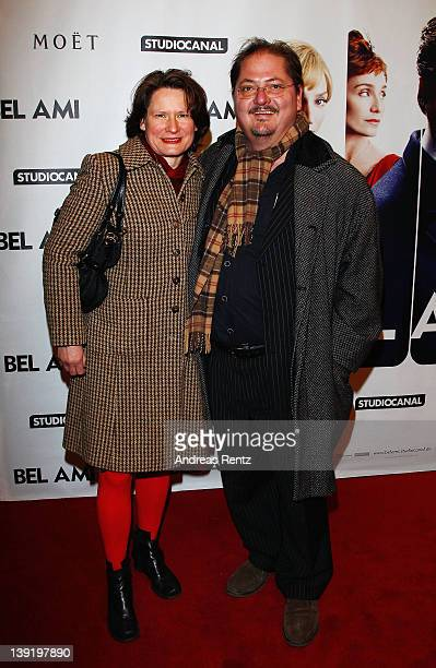 Juergen Tarrach and wife Ulrike attend the Bel Ami Party during day nine of the 62nd Berlinale International Film Festival at Meistersaal on February...