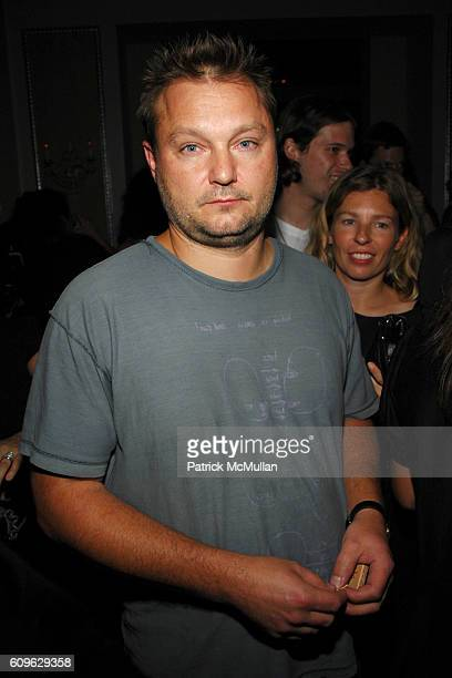 Juergen Teller attends MARC JACOBS Afterparty at 24 Fifth Avenue on September 10 2007 in New York City