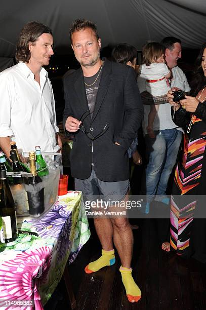 Juergen Teller attends the 'Sadie Coles And Angela Missoni Dinner For Gabriel Kuri And Urs Fischer' during the 54th International Art Biennale on May...