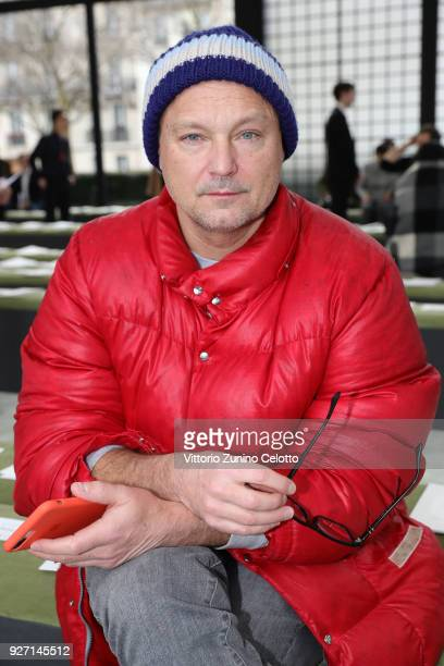Juergen Teller attends the Valentino show as part of the Paris Fashion Week Womenswear Fall/Winter 2018/2019 on March 4 2018 in Paris France