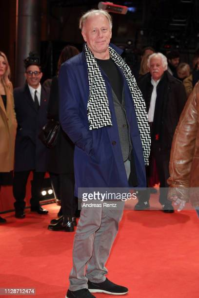 """Juergen Trittin attends the """"The Operative"""" premiere during the 69th Berlinale International Film Festival Berlin at Berlinale Palace on February 10,..."""
