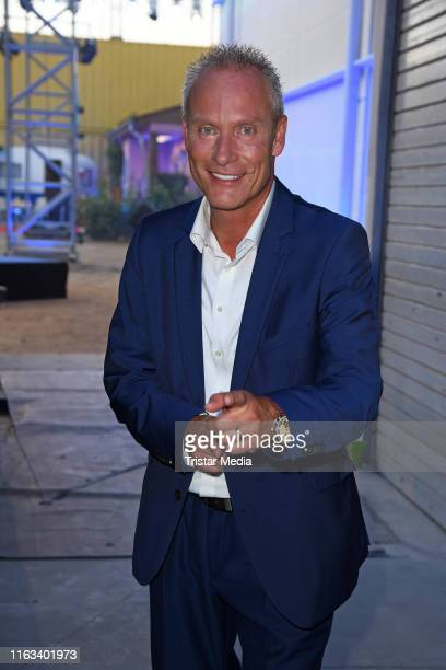 Juergen Trovato attends the Promi Big Brother final at MMC Studios on August 23 2019 in Cologne Germany