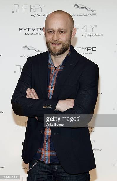Juergen Vogel attends the Jaguar F-Type commercial short movie 'The Key' premiere at e-Werk on April 13, 2013 in Berlin, Germany.