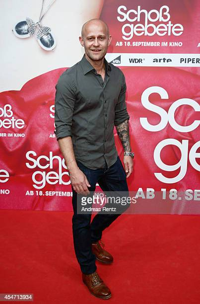 Juergen Vogel attends the premiere of the film 'Schossgebete' at Residenz Astor Film Lounge on September 5 2014 in Cologne Germany