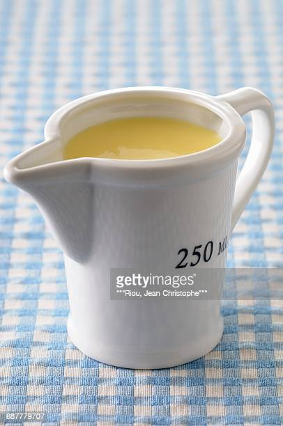 Jug of custard