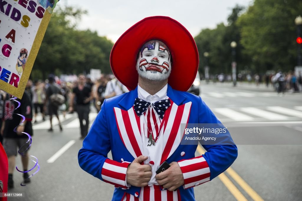 Juggalo March in Washington : News Photo